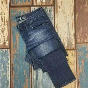 Madwell sz 26 skinny fit denim jeans